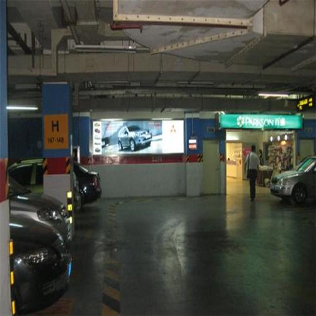 从化停车场入口灯箱推广案例